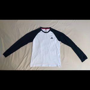 Large adidas longsleeve shirt